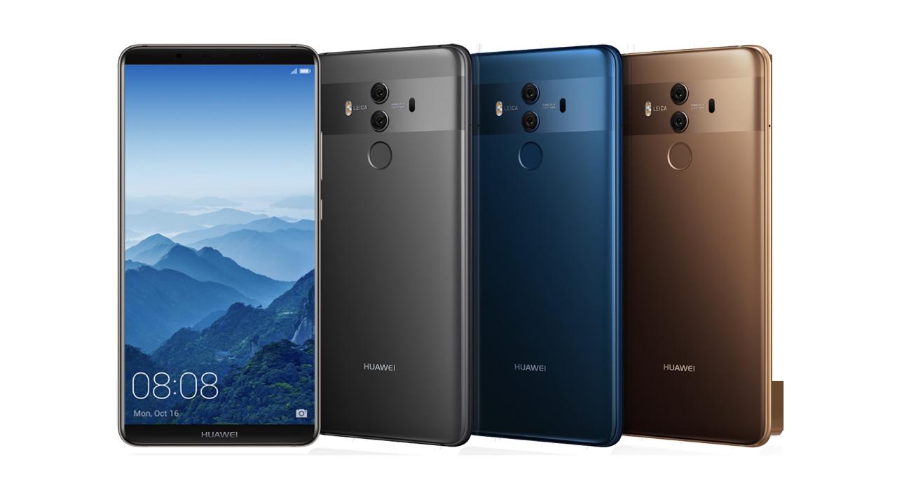 Huawei Mate 10 Pro - Huawei Mate 10 Pro lên kệ vào tháng 2 tại Mỹ