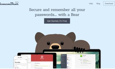RememBear1280x720 400x240 - RememBear: Tiện ích quản lý mật khẩu mới cho iOS, Android, Windows, Mac