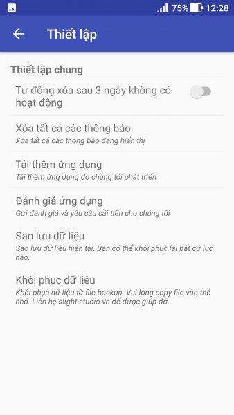 Screenshot 20180109 122858 338x600 - Phone Schedule: tự động nhiều tác vụ theo thời gian thiết lập trên Android