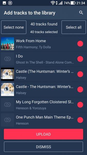 MoonBeat: Ứng dụng phát nhạc trên đám mây miễn phí 2