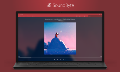 SoundByte 400x240 - SoundByte: Trình chơi nhạc hiện đại, nghe SoundCloud, xem video YouTube trên Windows 10