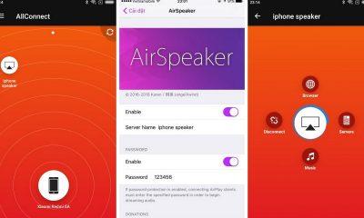 airspeaker featured 400x240 - Cách biến iPhone thành loa không dây, Audio Receiver chuyên nghiệp
