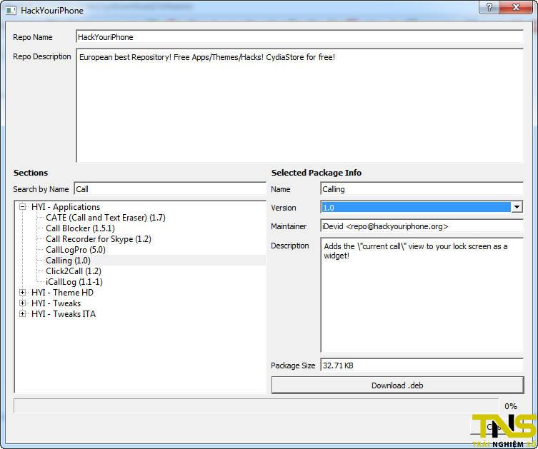 cydownload 4 - CyDownload - Công cụ giúp bạn tải tweak và theme miễn phí