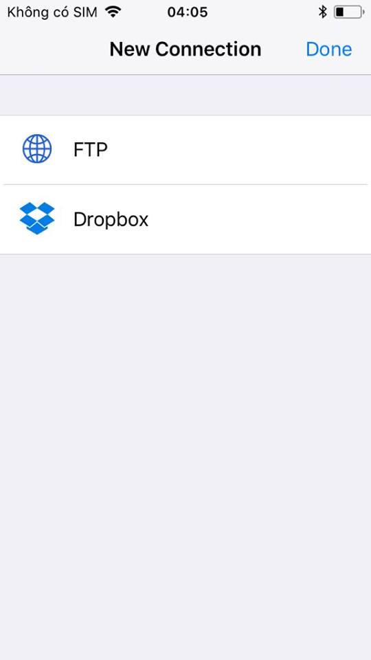 ftpmanager 2 - Khám phá ứng dụng trên App Store giống Filzajailed, không lo hết hạn sử dụng