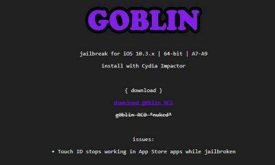 g0blin featured 400x240 - G0blin đã ra bản chính thức, giúp jailbreak iOS 10.3.3 cho máy 64-bit