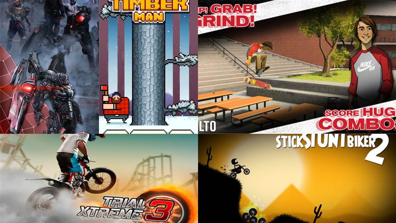 game mobile box so 25 - Game mobile box #25: Transworld Endless Skater, Trial Xtreme 3,...