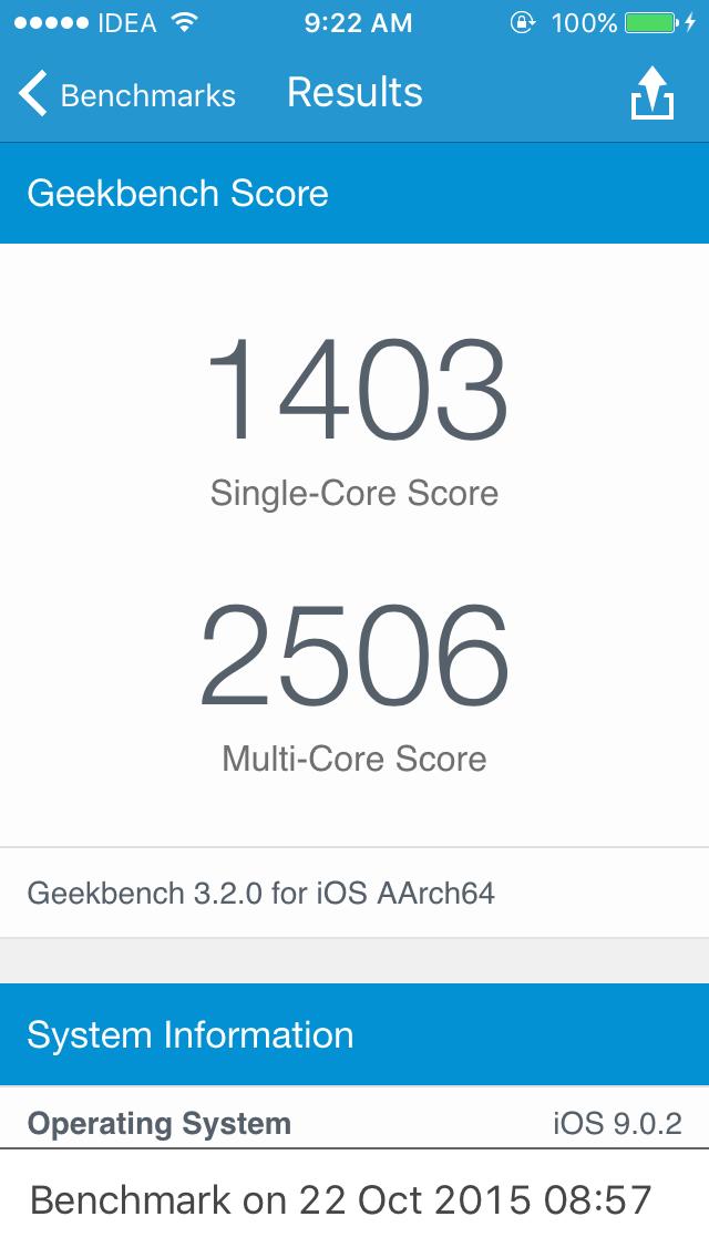 """geekbench 1 - Thủ thuật siêu tiết kiệm pin trên iOS 11 - pin """"trâu như điện thoại đập đá"""""""