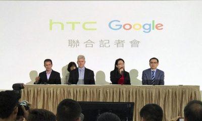 google htc 400x240 - Mảng smartphone của HTC chính thức về tay Google