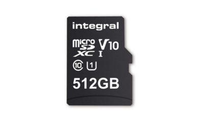 integral memory microsdxc 512 gb featured 400x240 - Integral Memory phá kỷ lục thế giới với chiếc thẻ nhớ microSD dung lượng 512GB