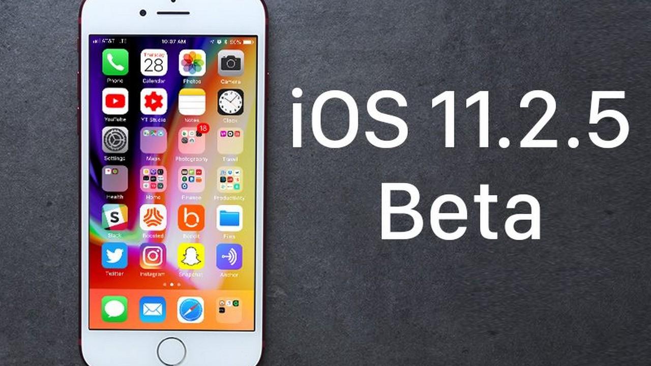 ios1125beta featured - Apple tung tiếp iOS 11.2.5 beta 5, cải thiện hiệu năng