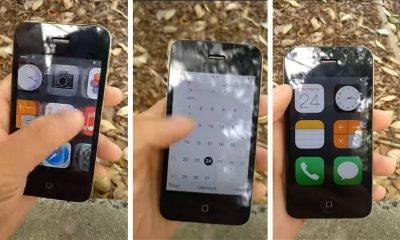 """iphone 4 featured 400x240 - Cách biến iPhone 4 thành """"feature phone đập đá"""" giao diện độc lạ"""