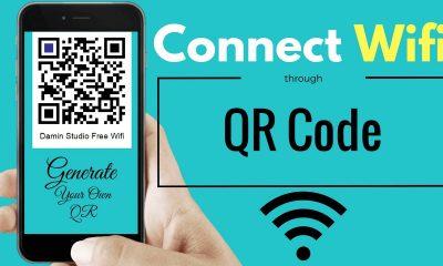 ket noi wifi bang qr code featured 400x240 - Cách tạo sticker mã QR-code để share Wi-Fi cực độc