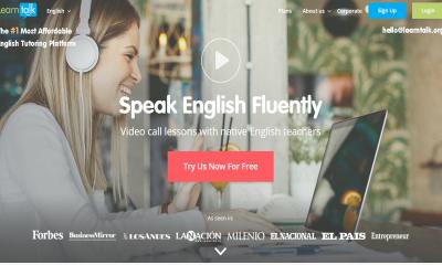 learntalk 400x240 - LearnTalk: Học tiếng Anh online với giáo viên, chủ đề mà bạn thích