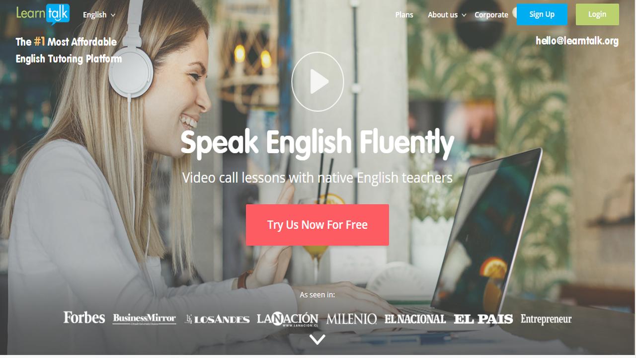 learntalk - LearnTalk: Học tiếng Anh online với giáo viên, chủ đề mà bạn thích