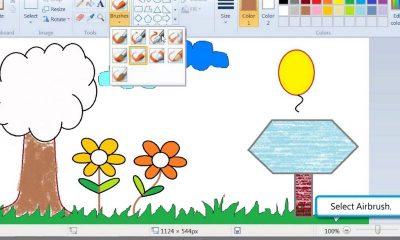 """microsoft paint featured 400x240 - Trải nghiệm công cụ vẽ Paint trên """"mây"""""""