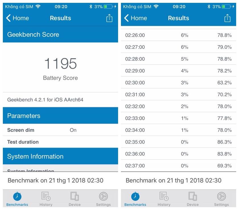 """pin iphone 1 - Trải nghiệm""""tính năng siêu tiết kiệm pin"""" trên iPhone 5s"""