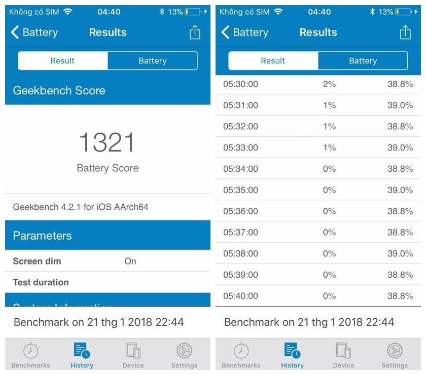 """pin iphone 3 - Trải nghiệm""""tính năng siêu tiết kiệm pin"""" trên iPhone 5s"""