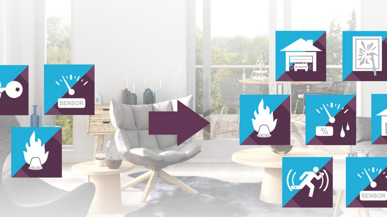 Sigma Designs Z-Wave 700 series smart home low power chip