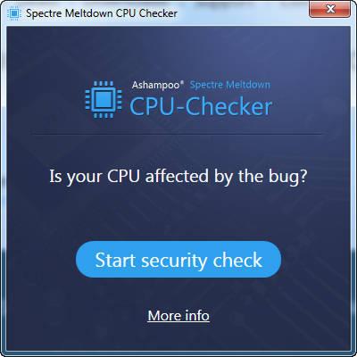 spectre cpu check 1 - Cách kiểm tra nhanh máy tính có lỗ hổng Spectre hay Meltdown không