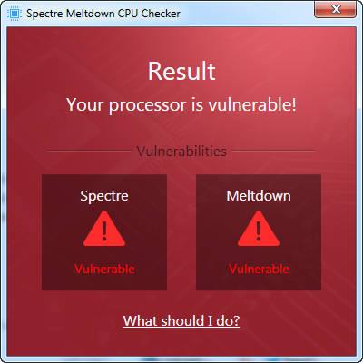 spectre cpu check 2 - Cách kiểm tra nhanh máy tính có lỗ hổng Spectre hay Meltdown không