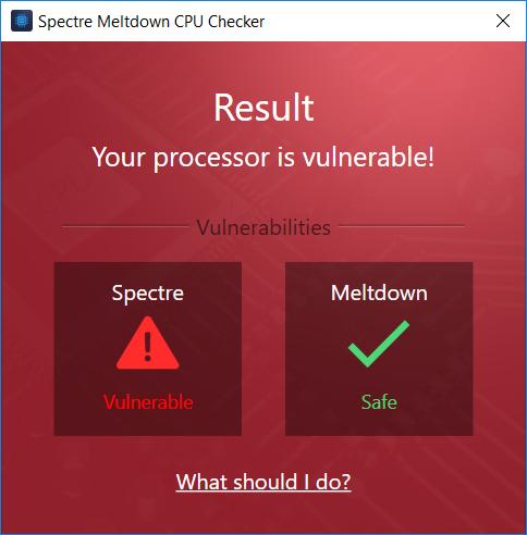 spectre cpu check 3 - Cách kiểm tra nhanh máy tính có lỗ hổng Spectre hay Meltdown không