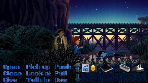 thimbleweed park screenshot 1 600x338 - Đánh giá Thimbleweed Park - bí ẩn một vụ mưu sát