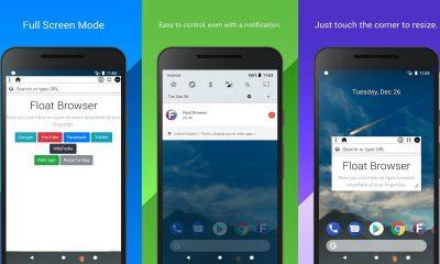 Float Browser 400x240 - Float Browser: Trình duyệt nổi, chặn quảng cáo và hỗ trợ phát nền trên Android