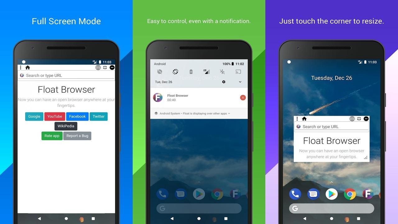Float Browser - Float Browser: Trình duyệt nổi, chặn quảng cáo và hỗ trợ phát nền trên Android