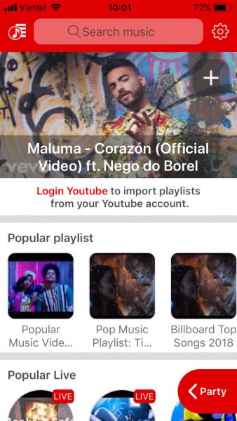 IMG 2675 338x600 - PartyTu: Cách bạn có thể nghe nhạc YouTube cùng với bạn bè
