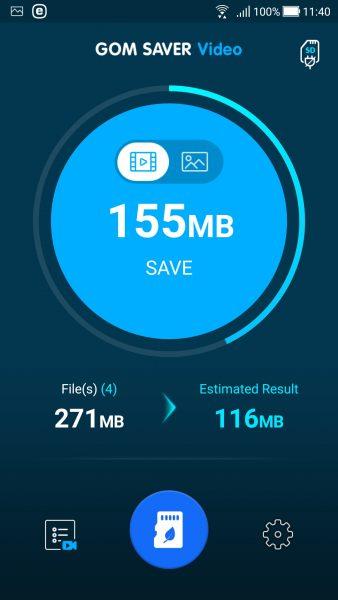 Screenshot 20180211 114013 338x600 - GOM Saver: Nén ảnh và video trên Android