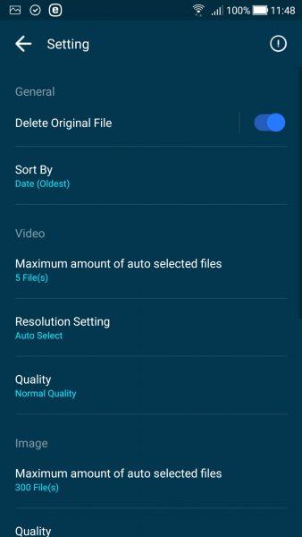 Screenshot 20180211 114842 338x600 - GOM Saver: Nén ảnh và video trên Android