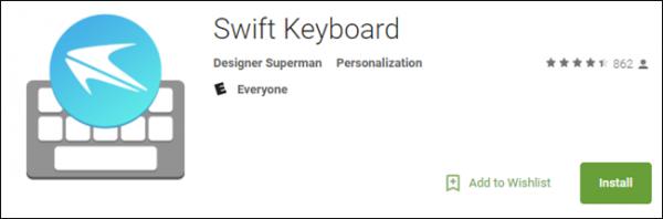SwiftKey giả 600x198 - Cách nhận biết ứng dụng giả mạo trên Play Store