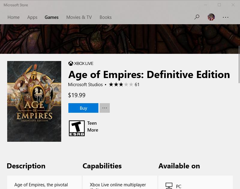 Age of Empires: Definitive Edition ra mắt, đổi store để có giá rẻ nhất 3