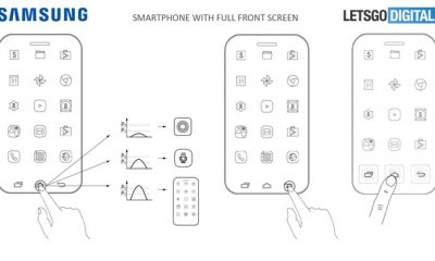 bang sang che Samsung 400x240 - Hé lộ bằng sáng chế mới cho thấy Samsung tích hợp cảm biến vân tay trực tiếp vào màn hình smartphone