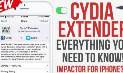 """cydia extender featured 1 400x240 - Cách tạo """"chữ ký số"""" mãi mãi cho ứng dụng iOS bằng JTool"""