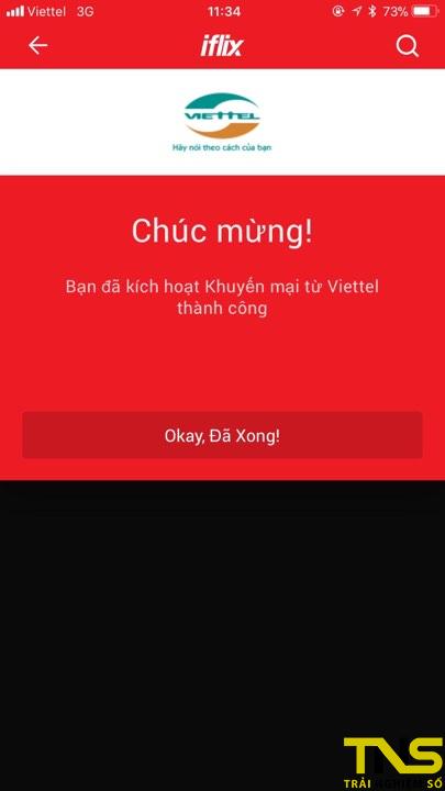 dang ky iflix viettel 5 - Cách đăng ký miễn phí iflix 3 tháng bằng SIM Viettel