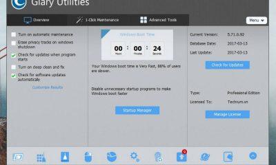 glary utilities pro featured 400x240 - Đang miễn phí ứng dụng Glary Utilities Pro trị giá 19,99USD cho PC