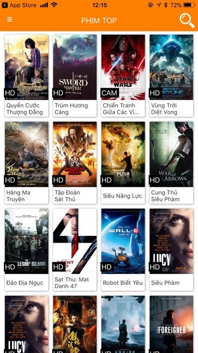 hdonline - Ba ứng dụng iOS cực hay xem phim miễn phí ngày Tết