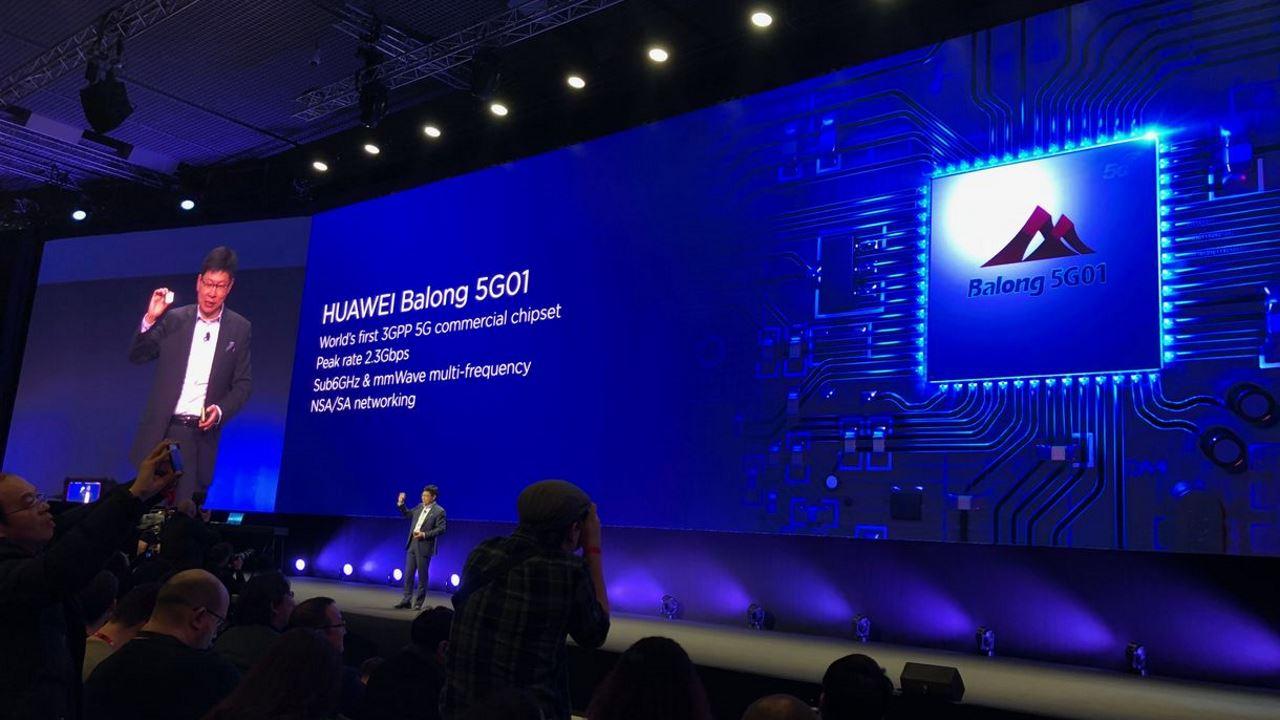 Huawei chip 5G Balong 5G01