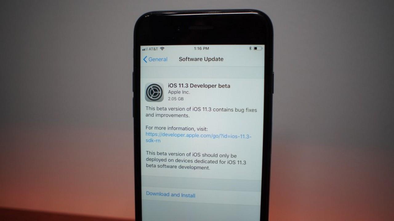 iOS 11 3 beta 1 featured - Cách mới để chặn cập nhật iOS 11 không cần jailbreak