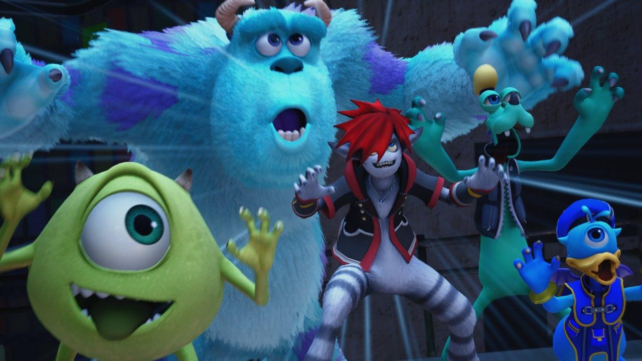 kingdom hearts 3 monsters inc. featured - Kingdom Hearts III sẽ có màn chơi Monster Inc., nhạc chủ đề mới