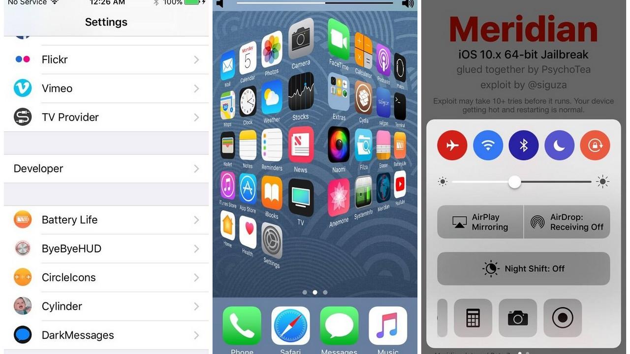 meridian featured - Công cụ Meridian sắp hỗ trợ Untethered Jailbreak 10.3.3?