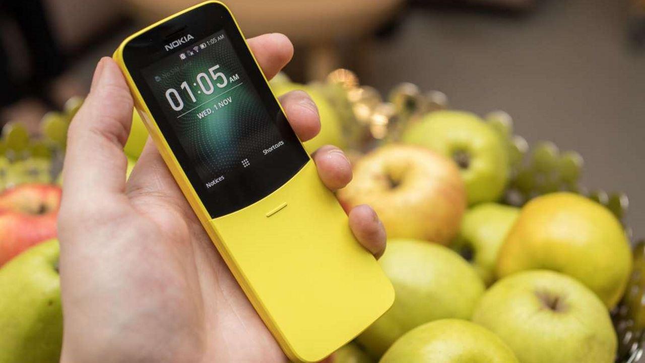 nokia 8110 banana 4g smart features os featured - BlackBerry Ghost: điện thoại cao cấp, không viền bezel, dành cho thị trường Ấn Độ?