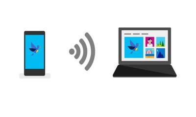 photo companion 400x240 - Cách chuyển ảnh, video trên Android và iOS vào máy tính Windows 10 bằng mã QR