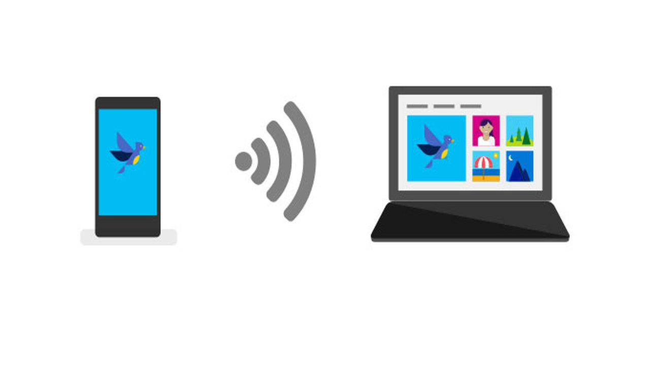 photo companion - Cách chuyển ảnh, video trên Android và iOS vào máy tính Windows 10 bằng mã QR