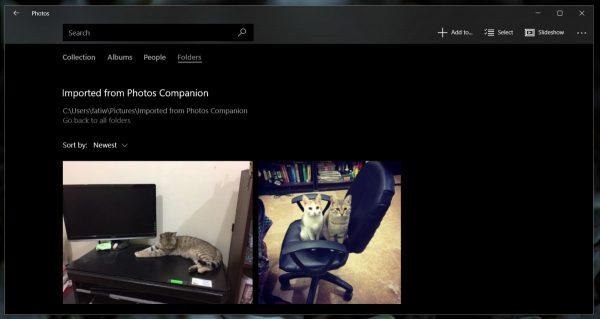 photos companion 5 600x319 - Cách chuyển ảnh, video trên Android và iOS vào máy tính Windows 10 bằng mã QR