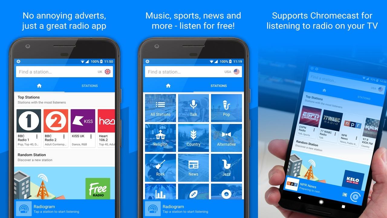 radiogram1280x720 - Radiogram: Ứng dụng nghe radio mới, miễn phí cho Android