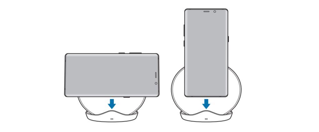 sac khong day galaxy s9 2 - Bộ sạc nhanh không dây của Galaxy S9 bị lộ qua tài liệu hướng dẫn sử dụng