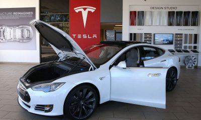 Tesla electric vehicle