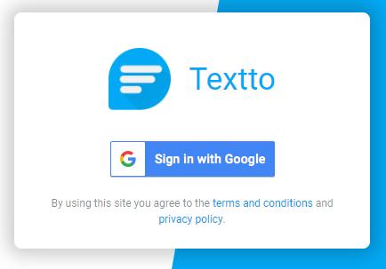 textto 0 - Cách nhắn tin SMS từ máy tính thông qua một điện thoại Android